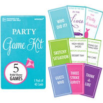 Bridal Shower Game Kit 5ct