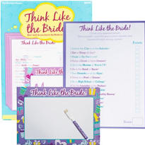 Think Like the Bride! Bridal Shower Game