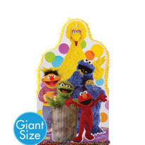 Giant Big Bird & Friends Pinata 36in