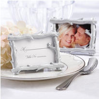 Silver Branch Photo Frame Wedding Favor