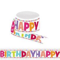 Girl Happy Birthday Streamer