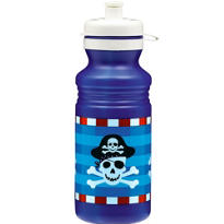 Pirate's Treasure Water Bottle 18oz