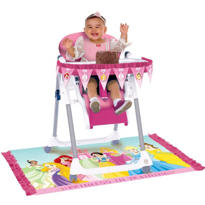 Disney Princess 1st Birthday High Chair Decorating Kit 2pc