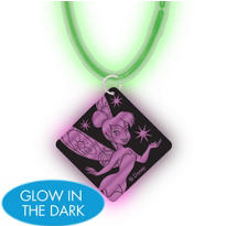 Disney Fairies Necklace with Glow Pendant