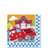 1st Birthday Cars Beverage Napkins 16ct