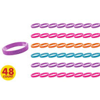 Tween Attitude Bracelets 48ct
