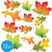 Fall Leaves Cutouts 12ct