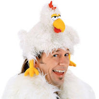 Chicken Puppet Hat