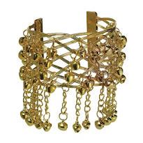 Gold Weave Bracelet