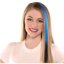 Ombre Blue Hair Extension