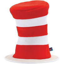 Adult Cat in the Hat Deluxe Hat