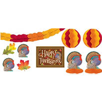Thanksgiving Room Decorating Kit 10pc