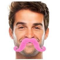 Pink Handlebar Moustache