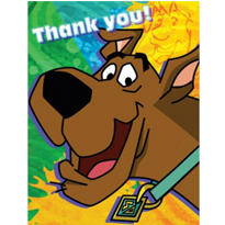Scooby Doo Thank You Notes 8ct