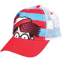 Embroidered Where's Waldo Trucker Hat