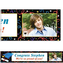 Custom Grad Celebration Photo Banner 6ft