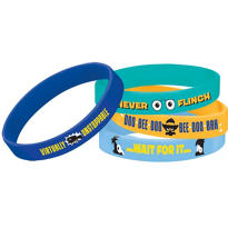 Phineas and Ferb Wristbands 4ct