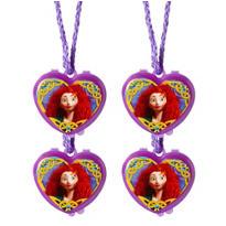 Brave Lip Gloss Necklaces 4ct