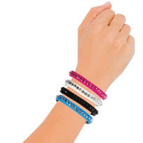 Jewel Faux Leather Bracelets