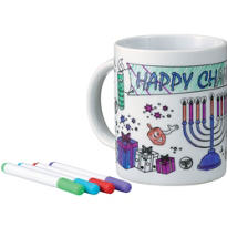 Hanukkah Mug Decorating Kit