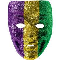 Glitter Jester Mardi Gras Mask
