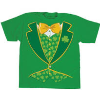 Adult Leprechaun Vest T-Shirt