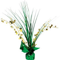 Shamrock Spray Centerpiece 12in