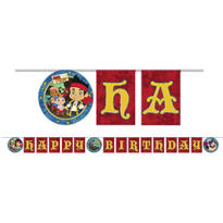 Jake and the Never Land Pirates Birthday Banner 8ft