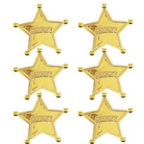 Toy Story Sheriff Badges 6ct