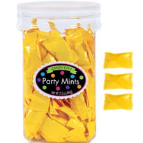 Yellow Party Mints 17oz