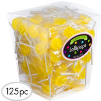 Yellow Lollipops 159pc
