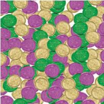 Mardi Gras Coins 350ct