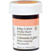 Creamy Peach Icing Color 1oz