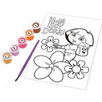 Dora the Explorer Paint by Numbers 7pc