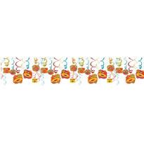 Fiesta Swirl Decorations 30ct