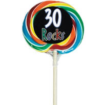 30 Rocks 30th Birthday Lollipop