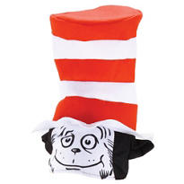 The Cat in the Hat Cat Face Hat