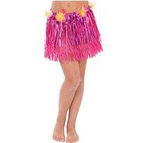 Child Tinsel Hula Skirt