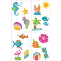 Summer Tattoos 1 Sheet