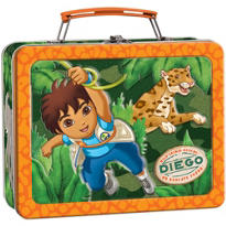 Go, Diego, Go! Metal Lunch Box 5in x 7in