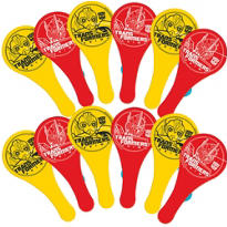 Transformers Paddle Balls 12ct