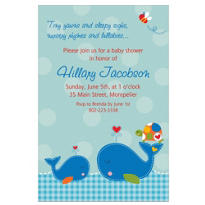 Ahoy Baby Custom Invitation