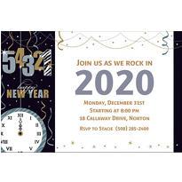 Wild Countdown Custom Invitation