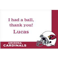 Arizona Cardinals Custom Thank You Note
