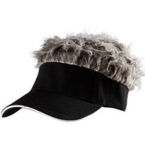 Black Flair Hair Visor