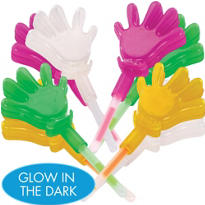 Glow Hand Clappers 8ct