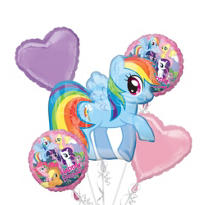 My Little Pony Balloon Bouquet 5pc