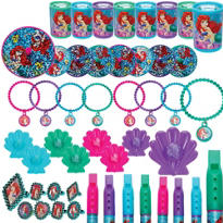 Little Mermaid Party Favor Pack