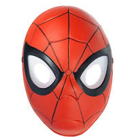 Child Plastic Spider-Man Mask
