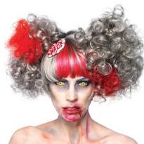 Bloody Brain Zombie Wig